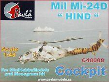 Pavla C48008 1/48 Resin Cockpit Mil Mi-24D Hind Monogram