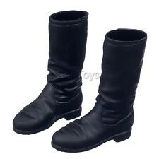 "Pair of 1/6 Boots Shoes for 12"" Kumik Phicen BBI Collectible Female Figures"
