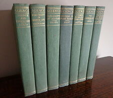 SCIENCE 1905 Lot of 7 Antique Book HEGEL-Proctor-GOSSE-Huxley-KANT-Kelvin-TAIT