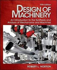 Design of Machinery: An Introduction to Synthesis, Norton, with CD 5th ED - USA!