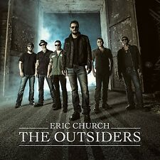 The Outsiders by Eric Church ( Audio CD) [ Today's Country] Discs: 1 (BAM)