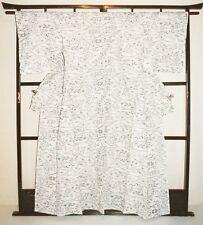 Japanese ladies vintage Kimono summer robe see through yukata for women #36