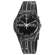 Swatch Originals Lines in the Sky Black Dial Unisex Watch GZ209