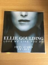"Ellie Goulding ""LOVE ME LIKE YOU DO"" 2 Trk Cd Promo - Fifty Shades Of Grey"