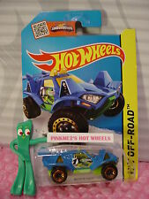Case P/Q 2015 i Hot Wheels QUICKSAND #111∞Blue/Green/Yellow∞Stunt Circuit