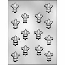"FLEUR DE LIS 1½"" Chocolate Candy Mold  Paris French"