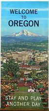 1960's Welcome to Oregon information brochure from Pacific Northwest Bell b