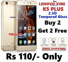 For Lenovo Vibe K5 Plus 2.5D Tempered Glass( BUY 2 GET 2 FREE ) @ Rs 110/- Only