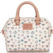 NEW Loungefly X HELLO KITTY White/Rose Gold PASTEL Duffle Bag -SALE