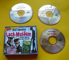 """3 CDs """" KARL VALENTIN'S LACH MUSÄUM """" 36 STÜCKE  ... MIT LISL KARLSTADT"""