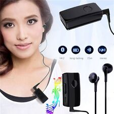 Clip-on Bluetooth 3.0 Wireless Sports Stereo Headset Earphone for Samsung iPhone