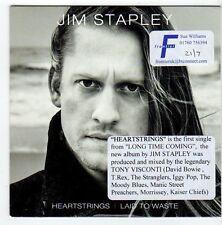 (EZ720) Jim Stapley, Heartstrings - 2014 DJ CD