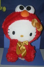 SANRIO Hello Kitty × Sesami Street ELMO Gorgeous Big Plush Doll JPN ONLY 14.4""