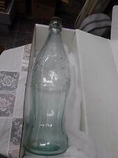 "RARE ORIGINAL 20"" COCA-COLA ADVERTISING DISPLAY BOTTLE METAL CAP  CIRCA 1930"