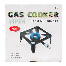 Cast Iron Large Gas LPG Burner Cooker Gas Boiling Ring Restaurant Catering 7KW