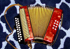 VITAGE ! SALE ! MADE IN GERMANY ! HOHNER C/F ERICA DIATONIC BUTTON ACCORDION