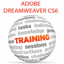 Adobe Dreamweaver cs6-Video formazione tutorial DVD