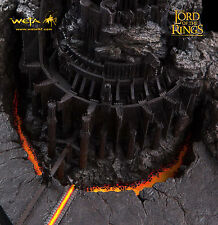 LOTR SIDESHOW WETA BARAD-DUR FORTRESS OF SAURON ENVIRONMENT STATUE FIGURE BUST