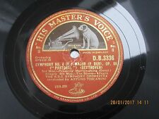 HMV - 78 rpm - Symphony No. 6 In F Major OP. 68 (Pastoral) Beethoven - D.B. 3336