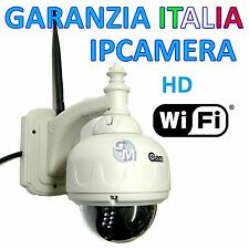 IP CAMERA WIFI ESTERNO WIRELESS  LED IR INFRAROSSI DOME HD ALTA DEFINIZIONE