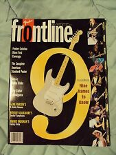 1997 Fender Frontline Magazine Full List Strats Teles PBass Color Charts 96 Page