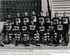 BOSTON BRUINS 1928-1929 STANLEY CUP CHAMPIONS NHL HOCKEY 8X10 TEAM PHOTO