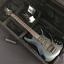 1988 Ibanez 540R Radius In Blue Burst With Brand New Hardfoam Case