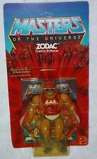 Masters of the Universe vintage ZODAC original 8-Back card Mattel He-Man 1981