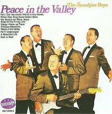 SUNSHINE BOYS-Peace In the Valley-GOSPEL-Vocal Harmony-CHRISTIAN-Country-C&W-Cd