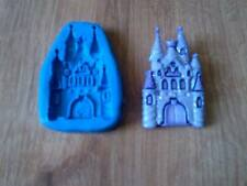 PRINCESS FAIRY CASTLE MOLD MOULD SUGARCRAFT FIMO POLYMER CLAY CAKE TOPPER