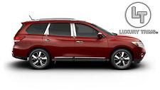 Fits Nissan Pathfinder Stainless Steel Pillar Posts by Luxury Trims 2013-2015 8p