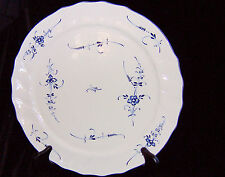 "VILLEROY & BOCH GERMANY FRANCE VIEUX LUXEMBOURG 13"" ROUND SERVING PLATTER"