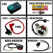 COMPLETE ELECTRICS Kick start only 50cc 110cc 125cc 150cc Pit Dirt bikes MAGNETO