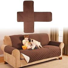 COTTON QUILTED WATERPROOF 3 SEATER SOFA COVER PET DOG KIDS FURNITURE PROTECTOR