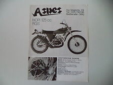 advertising Pubblicità 1975 MOTO ASPES HOPI 125 RGS