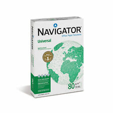 Navigator Universal White Copier Paper A4 80gsm Box 5 Reams 2500 Copy Sheets