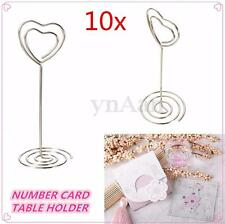 10x Place Card Holders Wedding Restaurants Bar Table Photo Memo Number Name Clip