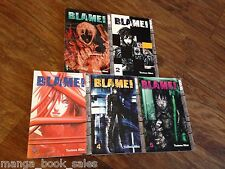 Blame 1 2 3 4 5 Manga Book Lot English Tsutomu Nihei Tokyopop Sci-fi action