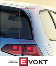 Volkswagen Golf VII TGI Bluemotion Rear Spoiler Flaps Black Genuine New