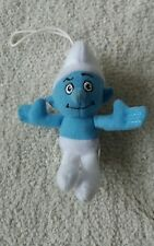 McDonalds Happy meal soft toy The Smurfs 2011 Hefty (Strong Man)