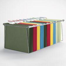 NEW Hanging Holder Letter File Wire Frame Folder Drawer Folders Metal Frames