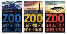 Zoo by James Patterson and Michael Ledwidge (2012, Hardcover)