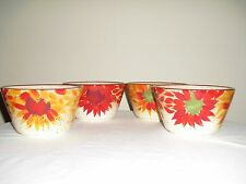 """Pfaltzgraff EVENING SUN HAND PAINTED Soup / Cereal Bowl 6"""" Set Of 4"""