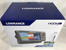 Lowrance Hook-7 000-12664-003 GPS Fish Finder Combo with Nautic Insight Pro  NEW