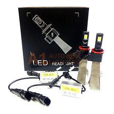 NEW Fanless Canbus H11 H9 H8 30W LED Headlight Kit 6000K Xenon White Bulbs