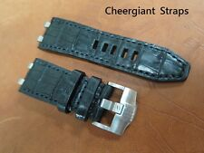 Audemars Piguet  ROO Diver crocodile watch strap band 愛彼錶皇家橡樹潛水錶鱷魚手工錶帶Cheergiant