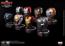 Iron Man 3 : 1/5th Scale Deluxe Helmet Series 6 (Box of 8)  From King Arts