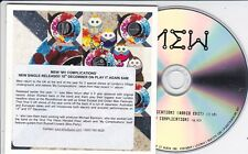 MEW MY COMPLICATIONS RARE 2 TRACK PROMO CD