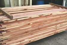 "100 bd. ft. 4/4 Aromatic Cedar Lumber,KD S2S to 15/16"" B & Better grade"
