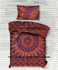 NEW Urban Outfitters Hippie Mandala Cotton Quilt Blanket Duvet Cover Single/Twin